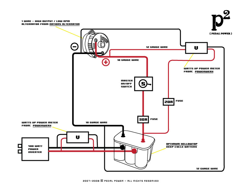 Marine Dual Alternator Wiring Diagram on 12 volt battery charger circuit